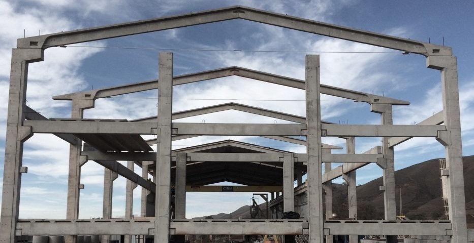 Construção de galpão pré-moldado em Embu