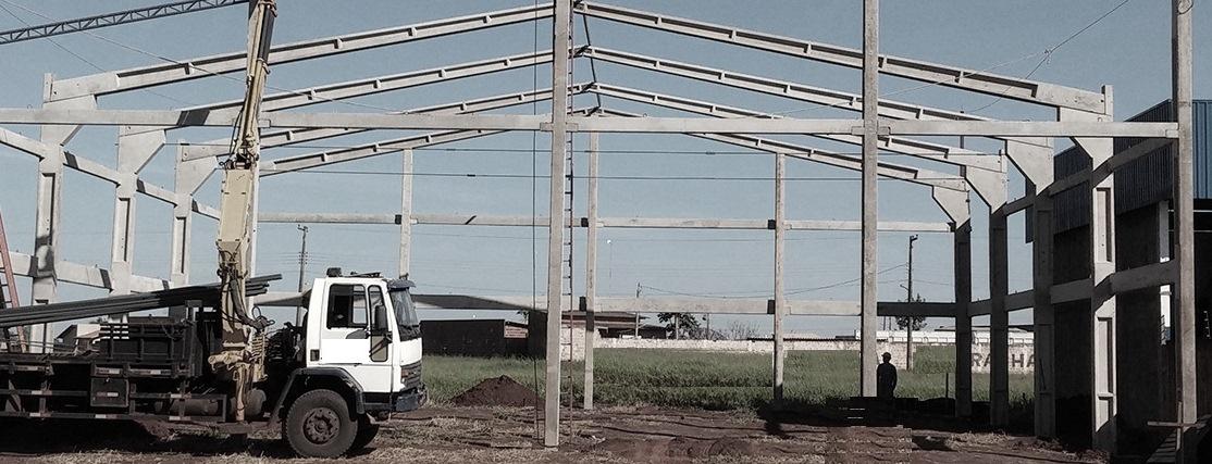 Construtora de galpão pré-moldado em Diadema