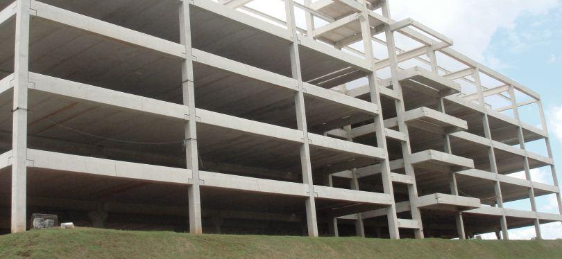 Construção de Galpão de Cobertura Pré-fabricada