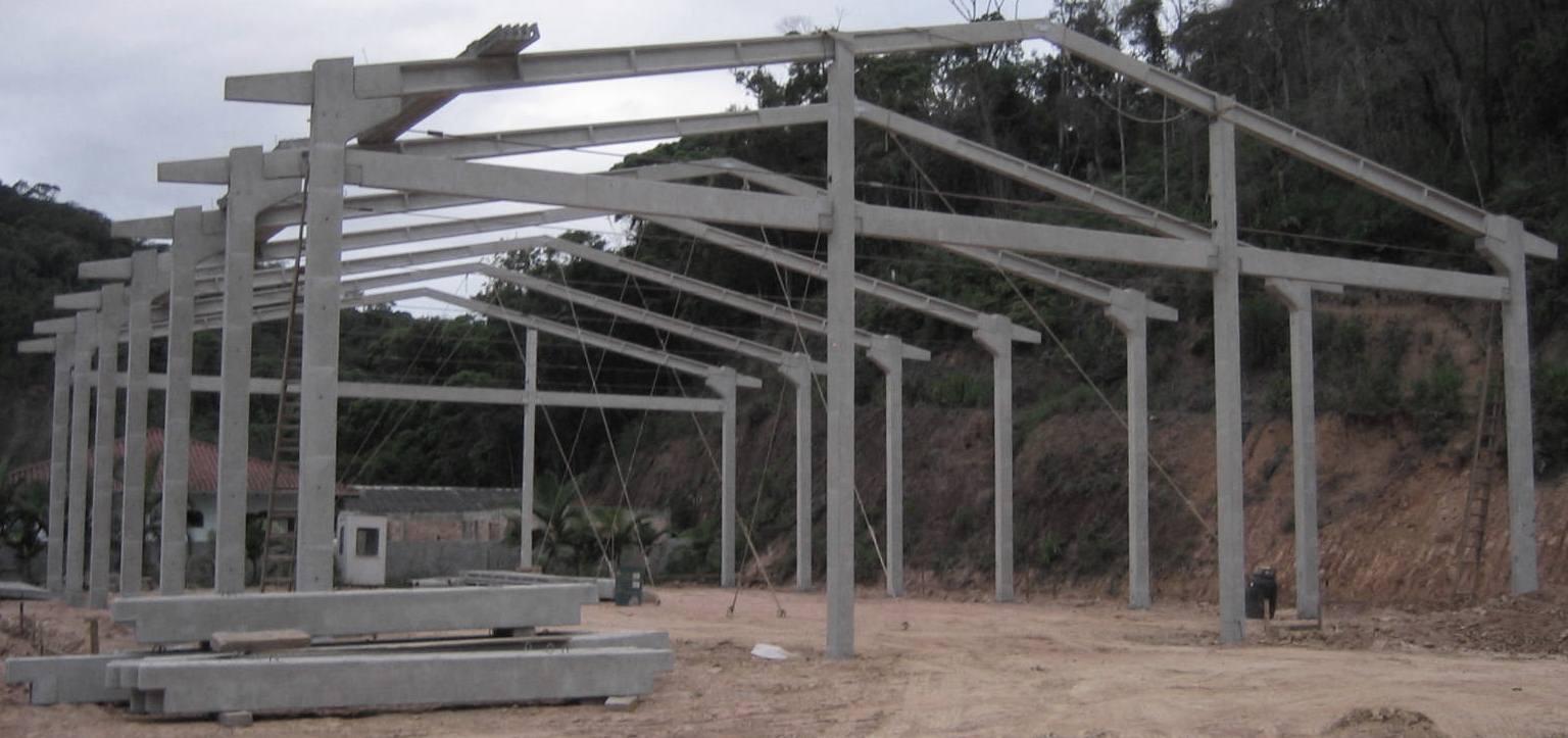 Qual é o preço do m2 para construção de um galpão pre-moldado?