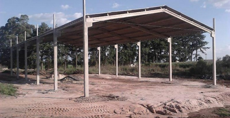 Barracão pré-moldado