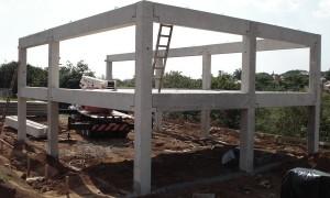 Construção de galpão pré-moldado em Francisco Morato