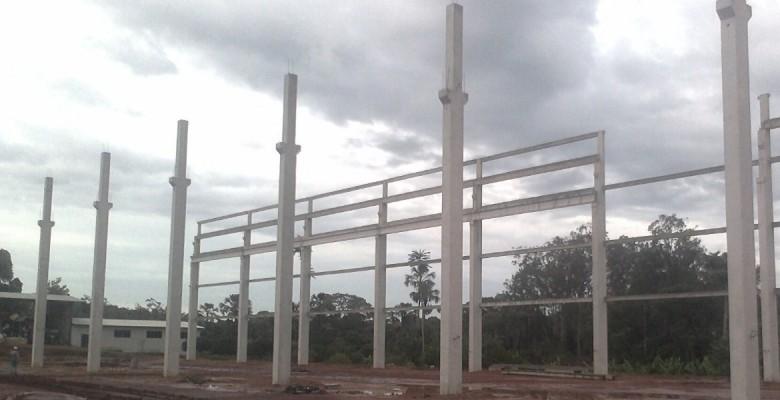 Construtora de galpão pré-moldado em São Vicente