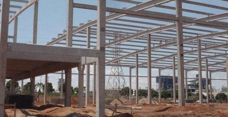 Construtora de galpão pré-moldado na zona leste