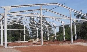 Construtora de galpão pré-moldado na zona oeste