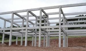 Estrutura pré-fabricada