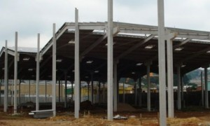 Construção de galpões industriais
