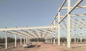 Construções de galpões