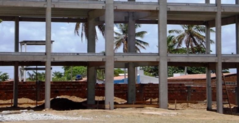 Estrutura pré moldada para Galpão