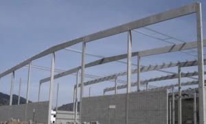 Execução de galpão pré fabricado em concreto