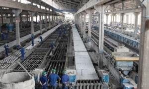 Fabricação de pré moldados